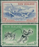 New Zealand 1957 SG761-762 Life-savers set MNH
