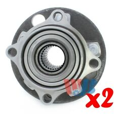 Pack of 2 Rear Wheel Hub Bearing Assembly replace 512205 HA591050 BR930294