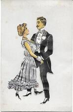 Carte animée Lambert Paris - Couple de danseurs - Carte à Système #1