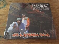 NEW RARE Westcoast Underground g-funk Hip Hop ICONS Not A Scratch On Us CD