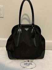 AUTHENTIC Prada Large Frame Handbag in Black - mint condition!
