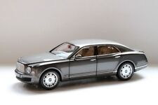 Minichamps 2010 Bentley Mulsanne Grey Metallic 1:18 Dealer Edition*Back In Stock