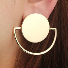 Boho Geometric Round Circle Dangle Drop Ear Stud Earrings Women Party Jewelry