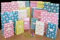 Pressie Pouch - Peel & Seal Gift Bags for Wrapping Gifts Birthday Presents Tag