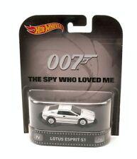 "Lotus Esprit S1 007 ""The Spy Who Loved Me"" James Bond 1:64 Model HOT WHEELS"