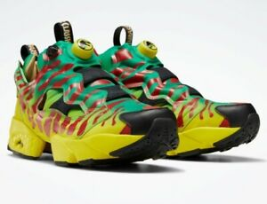 Jurassic Park Instapump Fury OG Shoes NIB Men's US 9.5 In-hand Ready to Ship