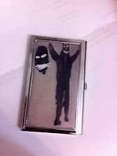 Jean Michel Basquiat Black Bear Business Card Holder Credit Card Case!
