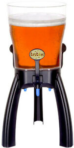 Beer Tower 5 Liters Promo Tabletop Beverage Dispenser With Cooling Three Taps