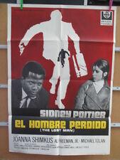 1870          EL HOMBRE PERDIDO, CON SIDNEY POITIER