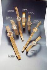 .1990 SCARCE ROLEX BROCHURE LADIES 14kt & 18kt GOLD, DIAMOND WATCHES & BRACELETS