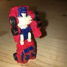 Takara Transformers micromasters Vintage G1 AutoBot Rescue Patrol Red Hot