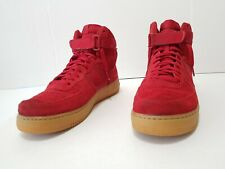 free shipping 34b6a 6dd52 Nike Air Force 1 High  07 LV8 Retro Basketball Shoes Gym Red 806403 601 Sz