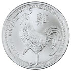 2017 Elemetal Mint 1 oz. .999 Fine Silver Year of the Rooster Round SKU43344
