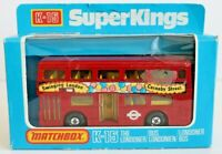 Die-Cast Car - MATCHBOX - Superkings K-15 Bus The Londoner Carnaby Street 1979