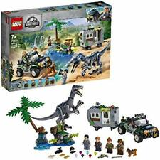 LEGO 75935 Jurassic World Baryonyx Face-Off: The Treasure Hunt Dinosaur Playset
