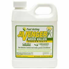 AVENGER® Organic Weed Killer, biodegradable, non-toxic - Concentrate 32oz