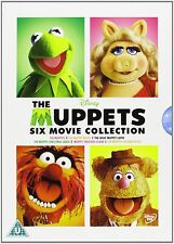 Disney The Muppets Six Movie DVDs - Miss Piggy, Childrens, Family, Retro **NEW**