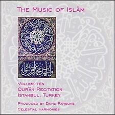 NEW The Music of Islam, Vol. 10: Qur'an Recitation, Istanbul, Turkey (Audio CD)