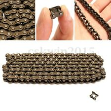 HIGH QUALITY MINIMOTO MINI MOTO BIKE DRIVE CHAIN 25h 136 WITH SPARE 47/49cc