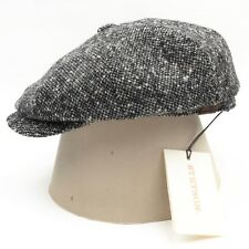 NEU Stetson Hatteras Flatcap Kappe Donegal Tweed Made Germany Wolle Wool HERBST