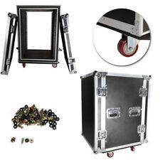 """New 19"""" Double Layer Double Door 16U Dj Equipment Cabinet for Audio Equipment"""