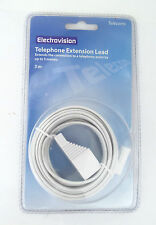 Electrovision 5 m Telephone Extension Lead P202B (C32S1)
