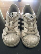 Children's Infant Girls Adidas Trainers Size 9K