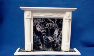 dolls house fireplace mantel 1/12 scale miniature detailed new