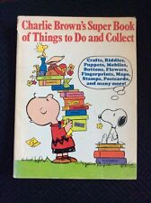 Charlie Brown's Super Book Of Things To Do And Collect Random House Club Ed.4837