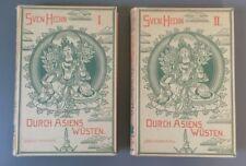 """Sven Hedin: """"Durch Asiens Wüsten"""" (Band 1+2) (j)"""
