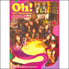 SNSD Girls' Generation - Oh! 2nd Album New Sealed CD KPOP