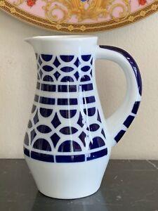 "Sargadelos Spain 5.5"" Ceramic Pitcher"