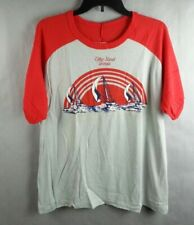 Original 1970's Vintage Tybee Island Ga Georgia Jubilee T-Shirt Sherry Size Xl