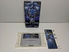 Super R-Type (Super Famicom) (Japanese Import) Complete In Box. Canadian Seller.