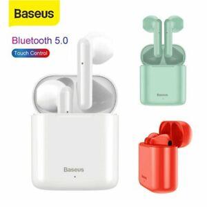 Baseus W09 Bluetooth 5.0 Kopfhörer In Ear Headset Kabellose Sports IPX4 Earbuds