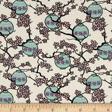 Mary Fons Small Wonders Japan Cherry Blossom 100% cotton fabric by the yard