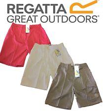 REGATTA LADIES PAVIA SUMMER SHORTS WHITE,BROWN or PINK wj148