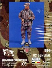 Verlinden 1:35 54mm US General Resin Figure Kit #594