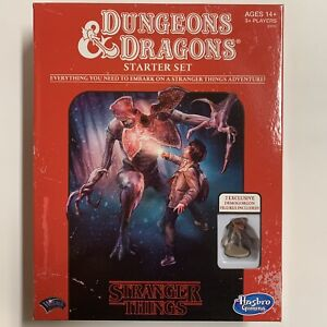 D&D Stranger Things Dungeons And Dragons Starter Set Roleplaying Game 2018