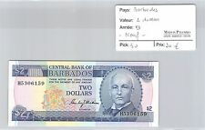 BILLET BARBADES - 2 DOLLARS - NEUF !