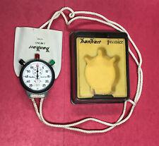 Hanhart Premier TRISTOP Working Stopwatch Timer Vintage Stop Watch