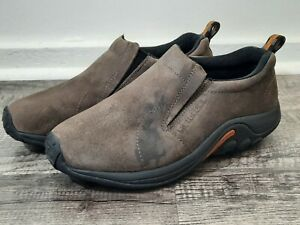 Merrell Men's Jungle Moc Slip-On Shoe Loafer Gunsmoke Brown Sz 8.5