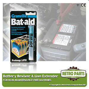 Car Battery Cell Reviver/Saver & Life Extender for Seat Altea.
