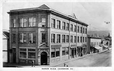 Photo. ca 1913. Cranbrook, BC Canada. Hanson Block