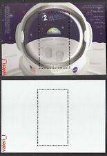 2019 Bulgaria  Space 50th anniversary from the step of a man on the moon S/S MNH
