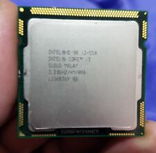 Intel i3 550 3.20hz Processore Dual-Core Socket 1156