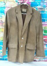 Cabela's Leather Coat men's Size 42 Tan