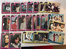 Charlie's Angels 1977 Lot of Non-Sport Trading Cards + Stickers