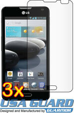 3x Clear LCD Screen Protector Cover Guard Shield Film LG Optimus F6 D600 MS500