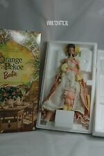 Barbie Orange Pekoe Victorian Tea Porcelain collection porcelain doll NRFB